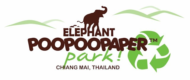 Elephant POOPOOPAPER Park Chiang Mai, Thailand