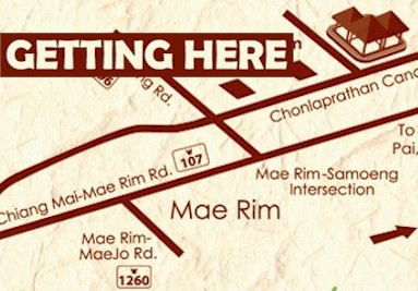 How to Get to Elephant POOPOOPAPER Park Mae Rim Thailand Map Directions